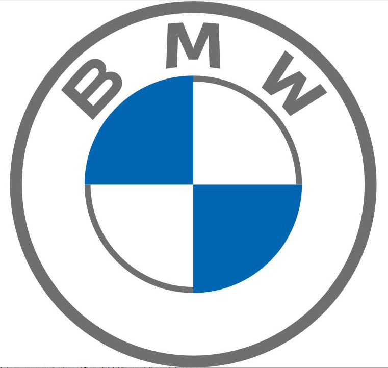 bmw logo neu gross